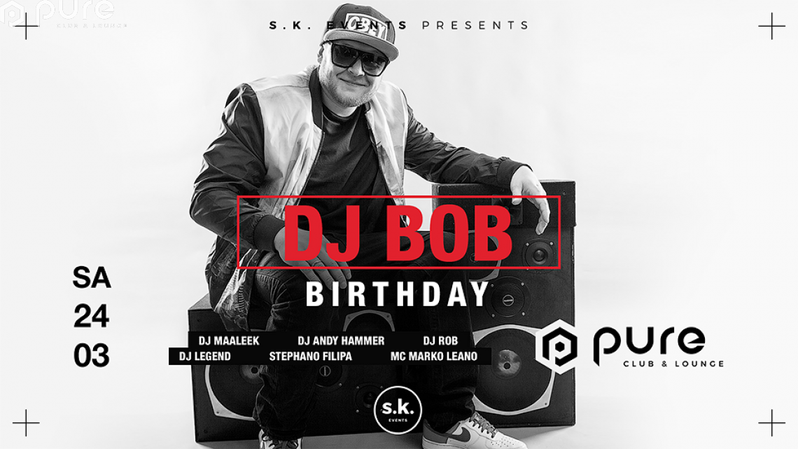 Pure Black DJ BOB Bday Party