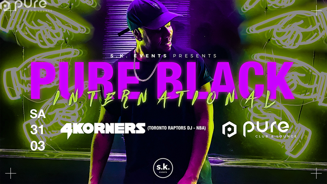 Pure Black International 4Korners (Toronto Raptors DJ NBA)