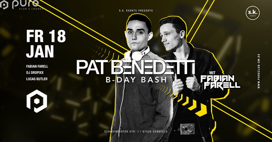Pat Benedetti´s Birthday Party feat. Fabian Farell