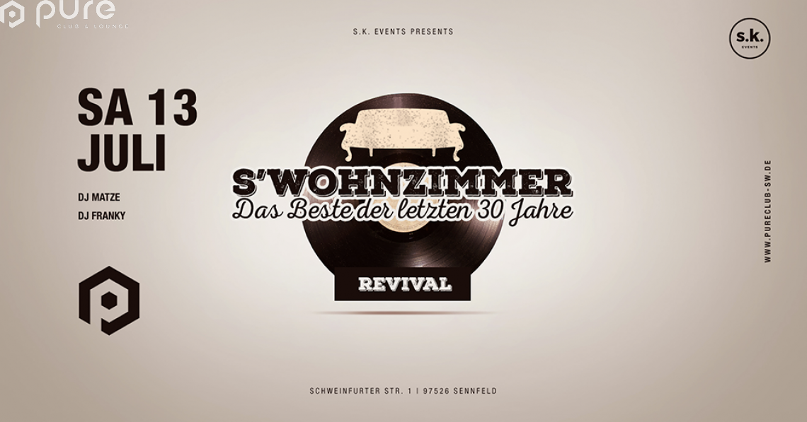 S´Wohnzimmer Revival Party
