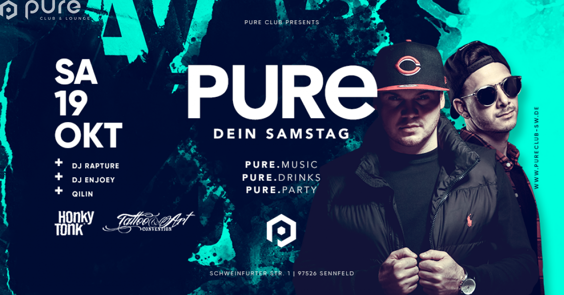 Pure DEIN Samstag / After Honky Tonk & After Tattoo Convention