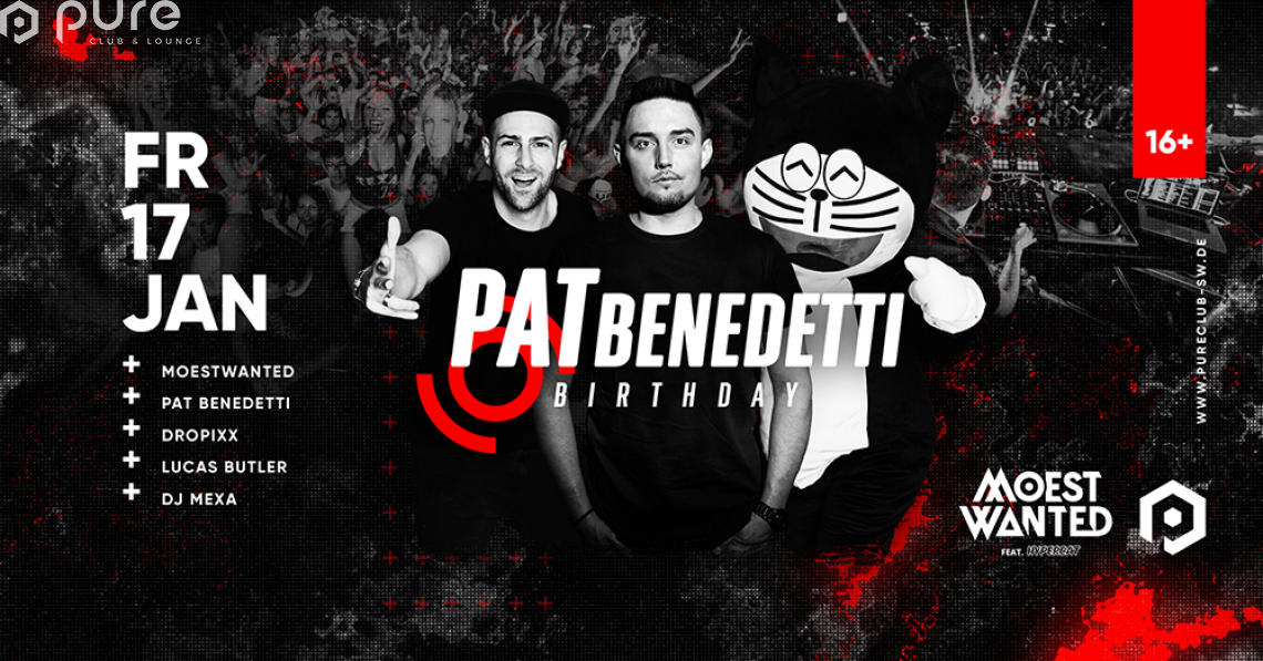 Pat Benedett´s Birthday Party Moestwanted feat. Hypercat