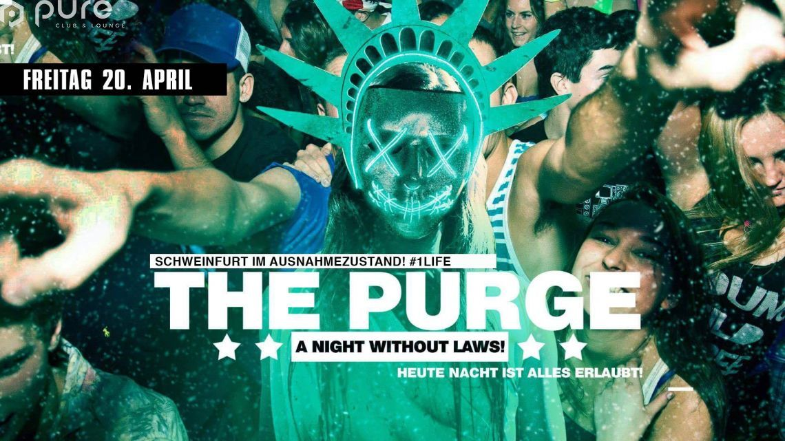 The Purge A night without laws Sonderevent