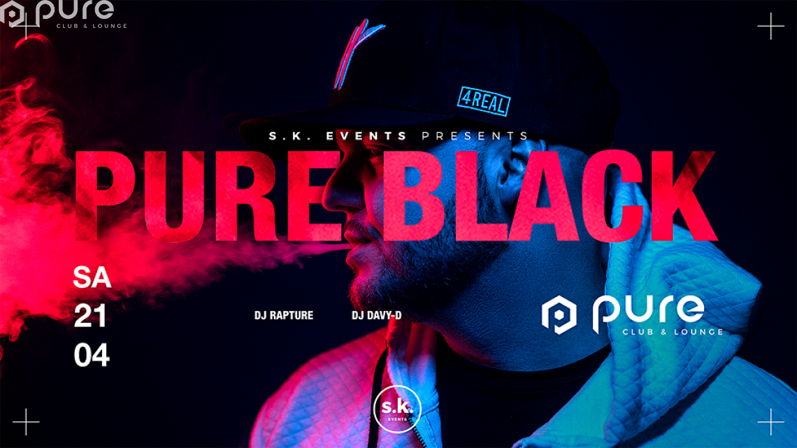 Pure Black Best of Hip Hop & R&B 4REAL by DJ Rapture